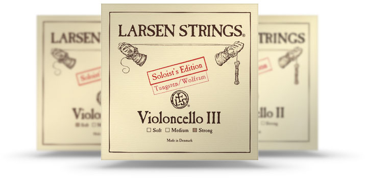 Larsen Soloist for cello