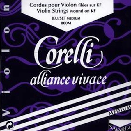 Corelli Vivace violin strings.
