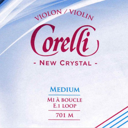 Corelli Crystal violin strings.